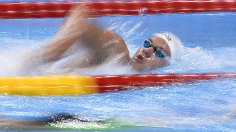 Rio de Janeiro, 2016. augusztus 12. Rasovszky Kristóf a riói nyári olimpia férfi 1500 méteres gyorsúszás versenyszámának elõfutamában a Rio de Janeiró-i Olimpiai Uszodában 2016. augusztus 12-én. MTI Fotó: Kovács Tamás
