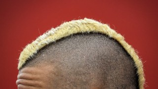 Belgium's Radja Nainggolan pictured during a press conference of Belgian soccer team Red Devils in Bordeaux, France, during the Euro 2016 UEFA European Championship in France, on Thursday 23 June 2016. The Euro2016 tournament is taking place from 10 June to 10 July. Yesterday Belgium won their game against Sweden, thus managing to qualify for the round of 16, in which they will play Hungary. BELGA PHOTO DIRK WAEM
