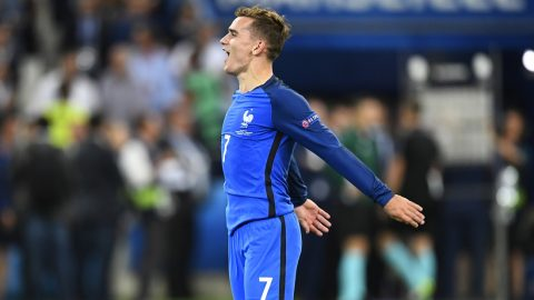 Antoine Griezmann (FRA) during the UEFA Euro 2016, Semi Final football match between Germany and France on July 7, 2016 at Velodrome stadium in Marseille, France - Photo Alain Grosclaude / DPPI