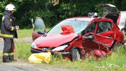 Halálos baleset történt a 41-es főúton Baktalórántházánál