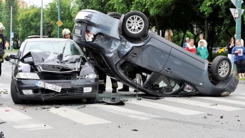 Három autó ütközött a Szentmihályi úton