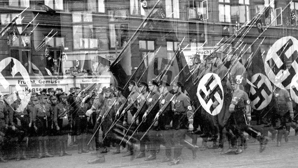 Visite de Hitler ŕ Hambourg (Allemagne). 1936.     RV-80294
