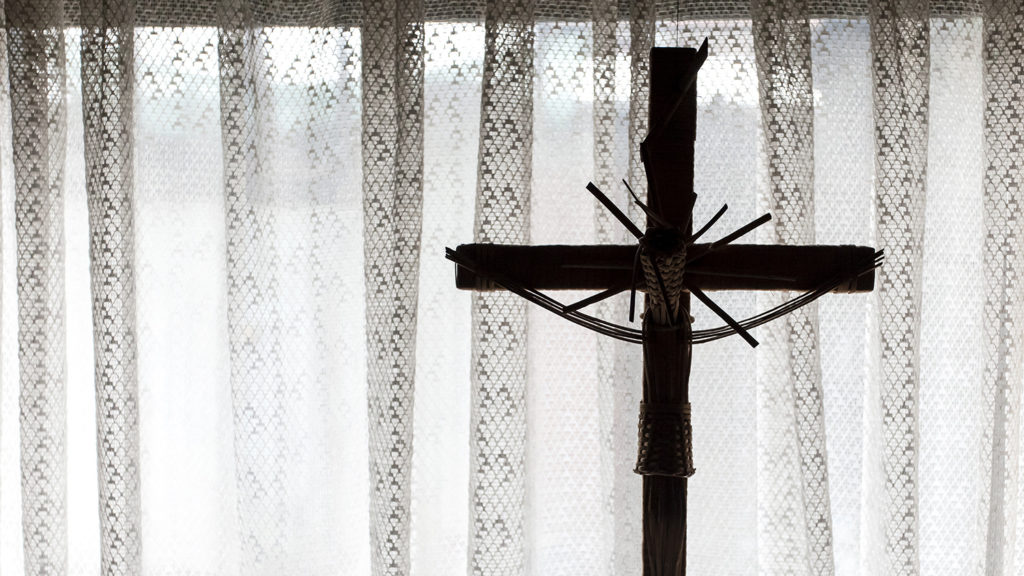 Osorno, Chile. 19 August 2018. The Chilean Catholic Church is in a serious crisis due to sexual abuse committed by priests and religious, every day there are more denunciations in Osorno, Chile. (Photo by Fernando Lavoz/NurPhoto)