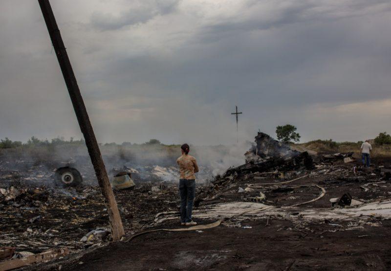 2464161 Ukraine. 07/17/2014 The crash site of the Malaysian Boeing 777 outside Shakhtyorsk, Donetsk Region. Andrey Stenin/RIA Novosti