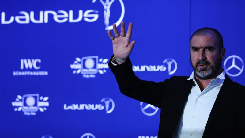 KUALA LUMPUR, MALAYSIA - MARCH 26:  Eric Cantona attends the 2014 Laureus World Sports Awards at the Istana Budaya Theatre on March 26, 2014 in Kuala Lumpur, Malaysia.  (Photo by Stanley Chou/Getty Images for Laureus)