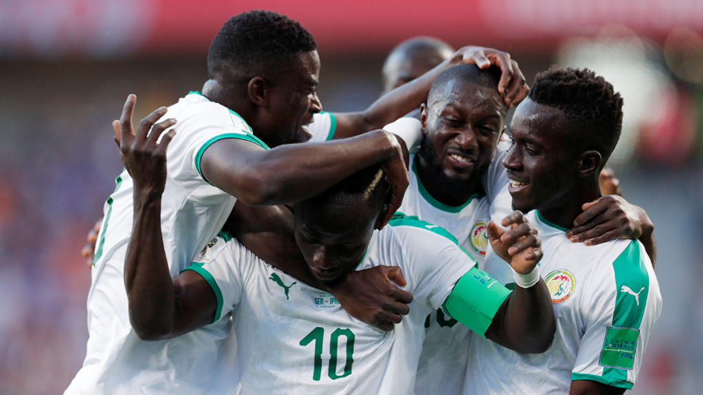 Japán-Szenegál 0-0