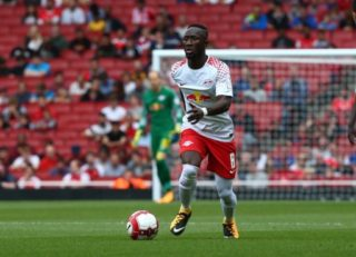 Naby Keita of RB Leipzig during Emirates Cup match between RB Leipzig against Sevilla  at Emirates Stadium on 29 July 2017 (Photo by Kieran Galvin/NurPhoto)