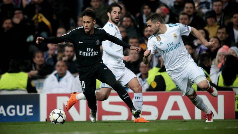 80214272. Madrid, 14 Feb. 2018 (Notimex-Juan Carlos Rojas).- El Real Madrid de España remontó y venció 3-1 al Paris Saint Germain de Francia, en el partido correspondiente a la ida de los octavos de final de la Champions League disputado en el estadio Santiago Bernabéu, con este resultado el actual campeón de Europa demostró que sigue vigente. NOTIMEX/FOTO/JUAN CARLOS ROJAS/JCR/SPO/