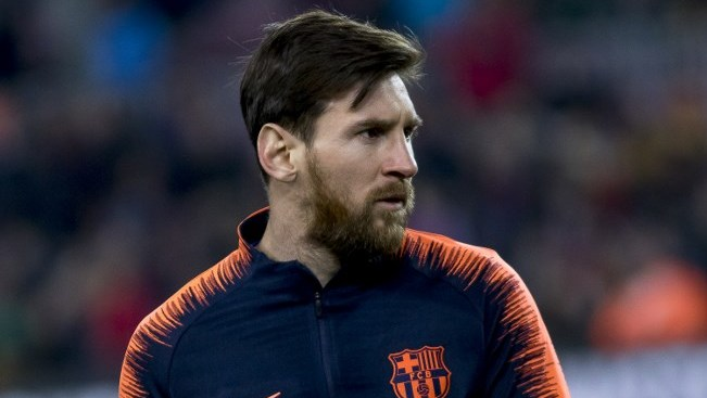 Leo Messi training prior the spanish football league match between FC Barcelona and Girona FC at the Camp Nou Stadium in Barcelona, Catalonia, Spain on February 24,2018 (Photo by Miquel Llop/NurPhoto)
