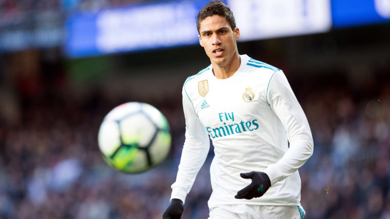 Real Madrid's French defense Raphael Varane during the Spanish championship Liga football match between Real Madrid and Alaves on february 24, 2018 at Santiago Bernabeu Stadium in Madrid, Spain - Photo Rudy / Spain DPPI / DPPI