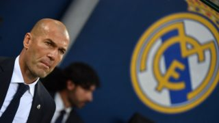 (FILES) In this file photo taken on May 28, 2016 Real Madrid's French coach Zinedine Zidane watches his players during the UEFA Champions League final football match between Real Madrid and Atletico Madrid at San Siro Stadium in Milan. Real Madrid coach Zinedine Zidane said on May 31, 2018 he was leaving the Spanish giants, just days after winning the Champions League for the third year in a row. / AFP PHOTO / GERARD JULIEN