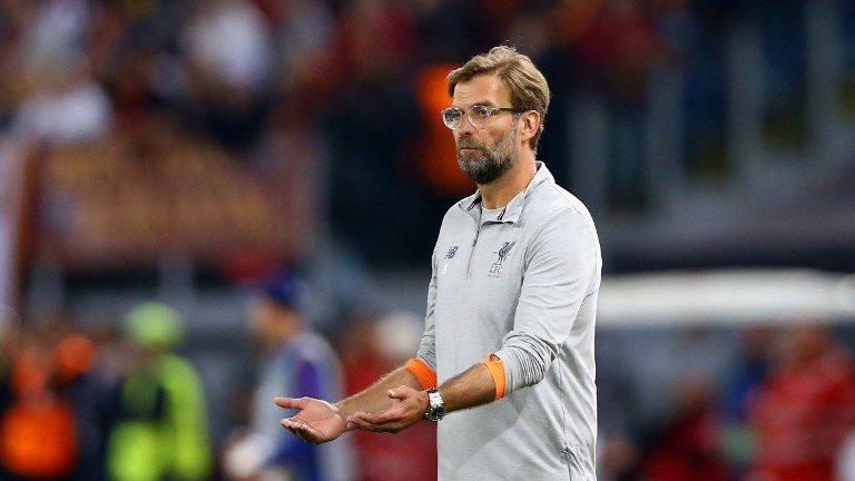 AS Roma v FC Liverpool - Champions League semi-final second leg Liverpool manager Jurgen Klopp at Olimpico Stadium in Rome, Italy on May 02, 2018  (Photo by Matteo Ciambelli/NurPhoto)