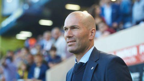 Zinedine Zidane head coach of Real Madrid prior the La Liga match between Villarreal CF and Real Madrid, at La Ceramica Stadium, on may 19, 2018 (Photo by Maria Jose Segovia/NurPhoto)