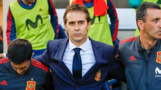 Julen Lopetegui, coach of Spain during the 2018 FIFA Friendly Game football match between Spain and Switzerland on June 3, 2018 at Ceramica stadium in Vila-real, Spain - Photo Oscar J Barroso / Spain DPPI / DPPI