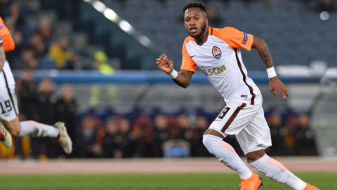 Fred during the Champions League football match A.S. Roma vs Shakhtar Donetsk at the Olympic Stadium in Rome, on march 13, 2018. (Photo by Silvia Lore/NurPhoto via Getty Images)