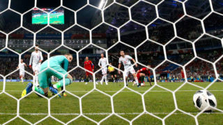 du ring the 2018 FIFA World Cup Russia group B match between Portugal and Spain at Fisht Stadium on June 15, 2018 in Sochi, Russia.