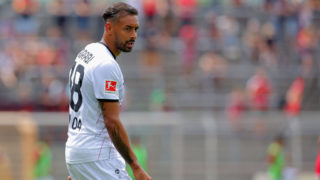 SIEGEN, GERMANY - JULY 21: Karim Bellarabi of Leverkusen looks on during a friendly match at Leimbachstadion on July 21, 2018 in Siegen, Germany. (Photo by Juergen Schwarz/Getty Images)