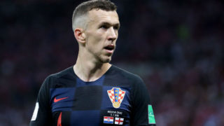 MOSCOW, RUSSIA - JULY 11: Ivan Perisic of Croatia during the 2018 FIFA World Cup Russia Semi Final match between England and Croatia at Luzhniki Stadium on July 11, 2018 in Moscow, Russia. (Photo by Jean Catuffe/Getty Images)