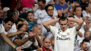MADRID, SPAIN - SEPTEMBER 29: Gareth Bale of Real Madrid is seen during the La Liga match between Real Madrid and Atletico Madrid at the Santiago Bernabeu Stadium in Madrid, Spain on September 29, 2018. Burak Akbulut / Anadolu Agency