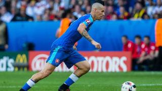 Sonntag 26.06.2016, Europameisterschaft in Frankreich, Lille, Achtelfinale, Deutschland - Slowakei, 3:0, Marek Hamsik (SVK #17) (Photo by TF-Images/Getty Images)
