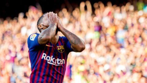 Barcelona's Malcom during the Joan Gamper trophy match between FC Barcelona and Boca Juniors at Camp Nou Stadium in Barcelona, Catalonia, Spain on August 15, 2018 (Photo by Miquel Llop/NurPhoto)