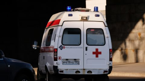 5499605 13.05.2018 Ambulance on the streets of Moscow. Natalia Seliverstova