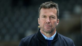 08 December 2018, Berlin: Soccer: Bundesliga, 14th matchday, Hertha BSC - Eintracht Frankfurt in the Olympiastadion Berlin. Lothar Matthaeus, recorded before the start of the game. Photo: Andreas Gora/dpa - IMPORTANT NOTE: In accordance with the requirements of the DFL Deutsche Fußball Liga or the DFB Deutscher Fußball-Bund, it is prohibited to use or have used photographs taken in the stadium and/or the match in the form of sequence images and/or video-like photo sequences.