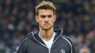 BERN, SWITZERLAND - DECEMBER 12: Daniele Rugani of Juventus looks on during the UEFA Champions League Group H match between BSC Young Boys and Juventus at Stade de Suisse, Wankdorf on December 12, 2018 in Bern, Switzerland. (Photo by TF-Images/TF-Images via Getty Images)