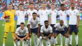 (BACK L to R) England's goalkeeper Jordan Pickford, England's defender John Stones, England's defender Gary Cahill, England's midfielder Eric Dier, England's defender Phil Jones, England's forward Marcus Rashford, England's midfielder Ruben Loftus-Cheek, (FRONT L-R) England's forward Jamie Vardy, England's defender Trent Alexander-Arnold, England's defender Danny Rose and England's midfielder Fabian Delph pose before the Russia 2018 World Cup Group G football match between England and Belgium at the Kaliningrad Stadium in Kaliningrad on June 28, 2018. (Photo by Patrick HERTZOG / AFP) / RESTRICTED TO EDITORIAL USE - NO MOBILE PUSH ALERTS/DOWNLOADS