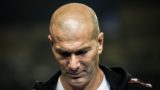 French football superstar and coach Zinedine Zidane attends the start match of the 2018-2019 adidas CUFA (China University Football Association) in Guangzhou city, south China's Guangdong province, 30 November 2018.  Adidas have become the new title sponsors of the China University Football Association League (CUFA League).