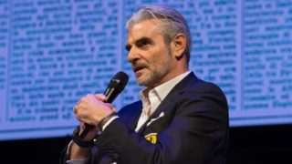 Maurizio Arrivabene attends the 'Il Festival dello Sport' in Trento, Italy, on 13 Otcober 2018. From 11 to 14 October 2018 the first edition of the Festival of Sport, which will have a national and international dimension, thanks to the caliber of the expected guests and the topics covered. The organizers are the first Italian sports daily, La Gazzetta dello Sport, and Trentino, under the patronage of Coni and the Italian Paralympic Committee. (Photo by Massimo Bertolini/NurPhoto)