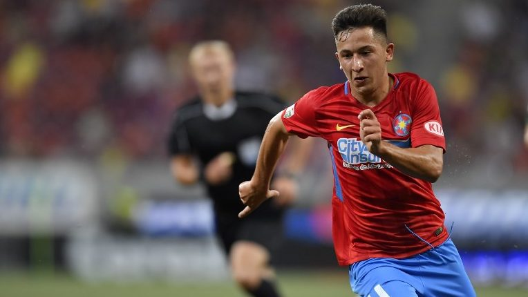 FCSB's Olimpiu Morutan during UEFA Europa League Second Qualifying Round 2st leg match between FCSB and NK Rudar Velenje at National Arena, in Bucharest, Romania, on 2 August 2018.  (Photo by Alex Nicodim/NurPhoto)