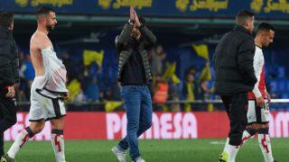 Head coach, Miguel Angel Sanchez Munoz, Michel of Rayo Vallecano after finished the La Liga match between Villarreal and Rayo Vallecano at Estadio de la Ceramica on March 17, 2019 in Vila-real Spain. (Photo by Maria Jose Segovia/NurPhoto)