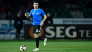 Andrei Viorel Artean of Viitorul Constanta during  First League Romania, Play Off, Round 3,  soccer match between ACS Sepsi OSK Sfantu Gheorghe and FC Viitorul Constanta, First League Romania, at Stadium Municipal, in Sfantu Gheorghe, Romania on 1st April, 2019. (Photo by Alex Nicodim/NurPhoto via Getty Images)