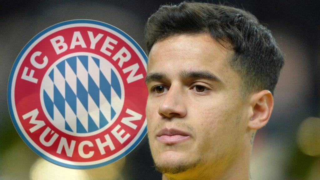 FOTOMONTAGE: Bayern Munich offenvar to Philippe COUTINHO (FC Barcelona) turn. Image: Philippe COUTINHO (BRA), Portrait, Head, Soccer Laenderpiel, Friendly Match, Germany (GER) - Brazil (BRA) 0: 1, on 27.03.2018 in Berlin / Germany. vǬ | usage worldwide