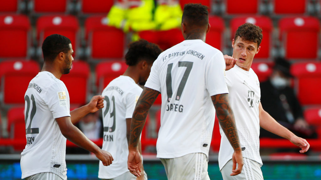 Tartotta a lépést üldözőivel a Bayern München Berlinben is   Rangadó