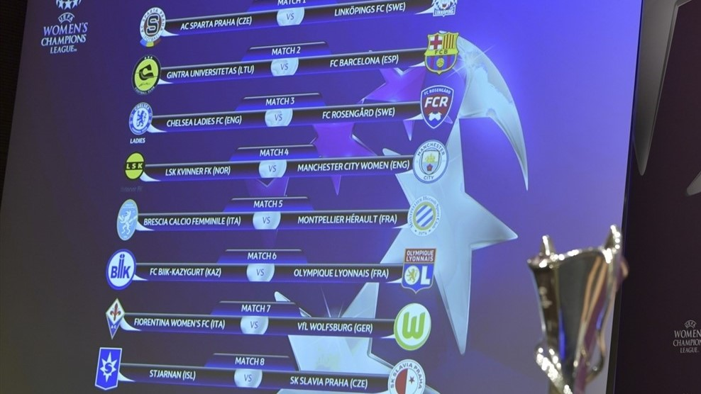 BL-sorsolás: megvan a Barca, a Chelsea és a City ellenfele ...