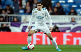 , SPAIN - JANUARY 10: Jesus Vallejo of Real Madrid during the Spanish Copa del Rey  match between Real Madrid v Numancia on January 10, 2018 (Photo by Laurens Lindhout/Soccrates/Getty Images)