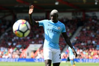Benjamin Mendy (22) of Manchester City during the English championship Premier League football match between Bournemouth and Manchester City on August 26, 2017 at the Vitality Stadium in Bournemouth, England - Photo Graham Hunt / ProSportsImages / DPPI