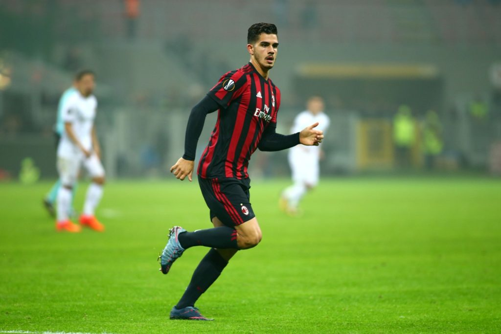 Andre SIlva of AC Milan during the UEFA Europa League, Group D football match between AC Milan and AEK Athens on October 19, 2017 at San Siro stadium in Milan, Italy - Photo Morgese - Rossini / DPPI