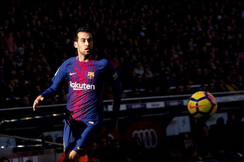 Sergio Busquets during the spanih league match between FC Barcelona and RC Celta de Vigo at the Camp Nou Stadium in Barcelona, Catalonia, Spain (Photo by Miquel Llop/NurPhoto)