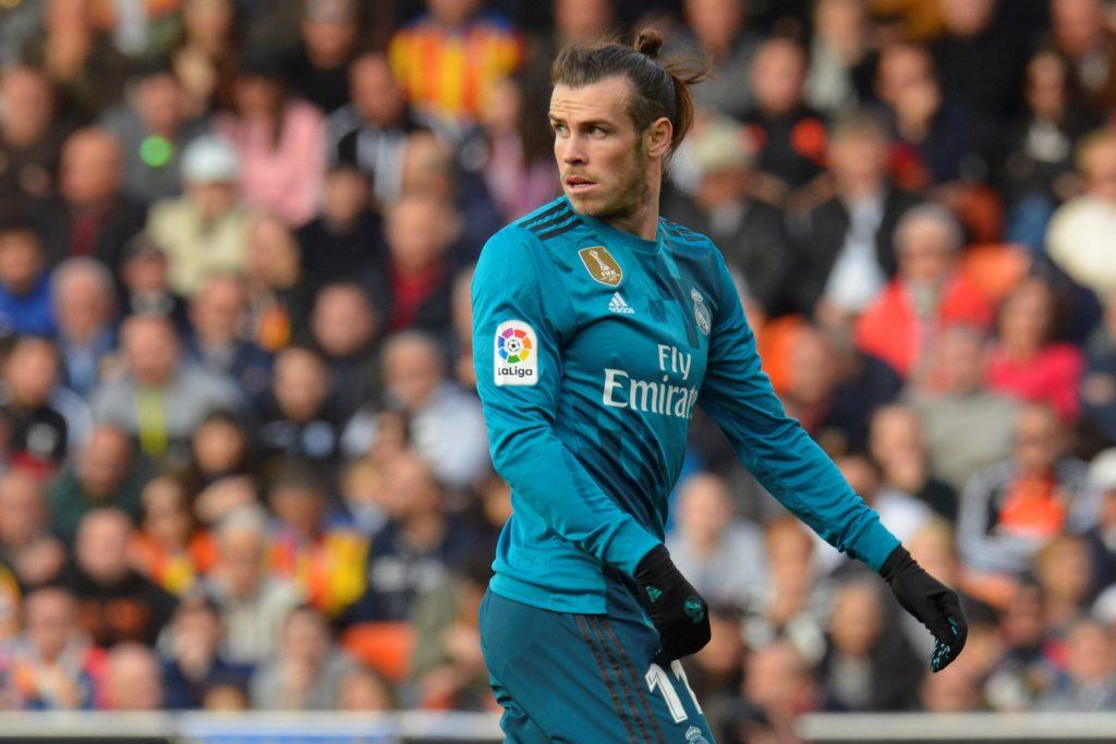 Gareth Bale  during the match between Valencia CF against Real Madrd, week 21 of La Liga 2017/187 at Mestala stadium, Valencia, SPAIN - 27th January of 2018.  (Photo by Jose Breton/NurPhoto)