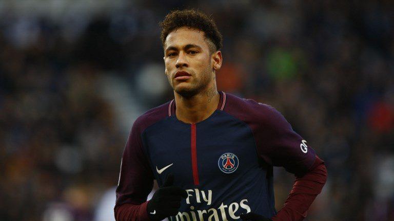 Neymar Jr of Paris Saint-Germain  during the Ligue 1 match between Paris saint-Germain and Strasbourg at Parc des Princes on February 17, 2018 in Paris, France. (Photo by Mehdi Taamallah/NurPhoto)