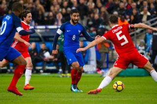 Nabil Fekir of France during the 2017 Friendly Game football match between France and Wales on November 10, 2017 at Stade de France in Saint-Denis, France - Photo Pierre Charlier / DPPI