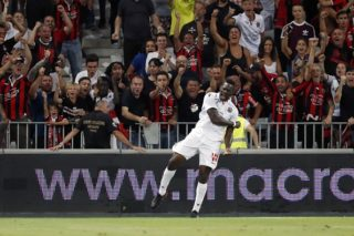 Mario Balotelli of OCG Nice during the UEFA Champions League third round qualifying first leg match between OGC Nice and Ajax Amsterdam on July 26, 2017 at the Allianz Riviera in Nice, France(Photo by VI Images via Getty Images)