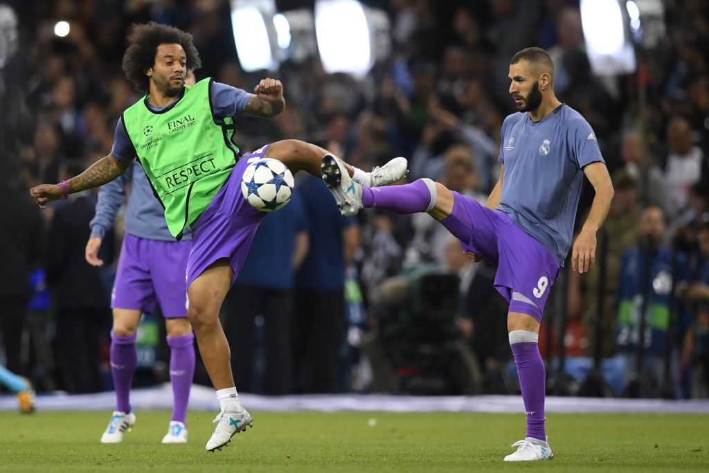 during the UEFA Champions League Final between Juventus and Real Madrid at National Stadium of Wales on June 3, 2017 in Cardiff, Wales.