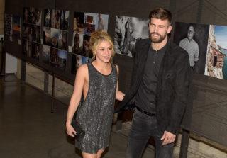 Gerard Pique (R) and Shakira (L) attend the 'Festa De Esport Catala 2016 Awards' on January 25, 2016 in Barcelona, Spain.