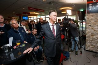 Louis van Gaal during the Dutch Eredivisie match between sbv Excelsior Rotterdam and FC Groningen at Van Donge & De Roo stadium on December 17, 2017 in Rotterdam, The Netherlands(Photo by VI Images via Getty Images)