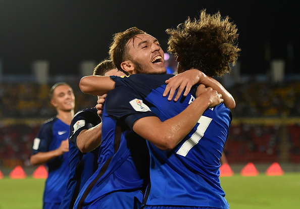 during the FIFA U-17 World Cup India 2017 group E match between France and Japan at Indira Gandhi Athletic Stadium on October 11, 2017 in Guwahati, India.