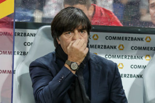 KAISERSLAUTERN, GERMANY - OCTOBER 08: head coach Jochaim Loew of Germany looks on during the FIFA 2018 World Cup Qualifier between Germany and Azerbaijan at Fritz-Walter Stadium on October 8, 2017 in Kaiserslautern, Germany. (Photo by TF-Images/TF-Images via Getty Images)